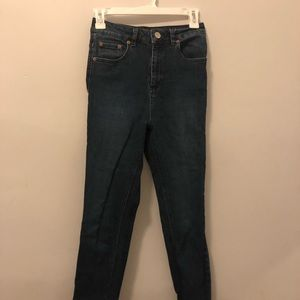 ASOS high waisted skinny jeans